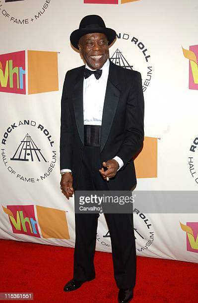 Buddy Guy inductee during 20th Annual Rock and Roll Hall of Fame Induction Ceremony Arrivals at Waldorf Astoria Hotel in New York City New York...