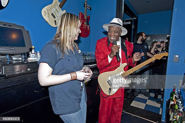 Buddy Guy performs at Buddy Guy's Legends on January 15 2011 in Chicago Illinois