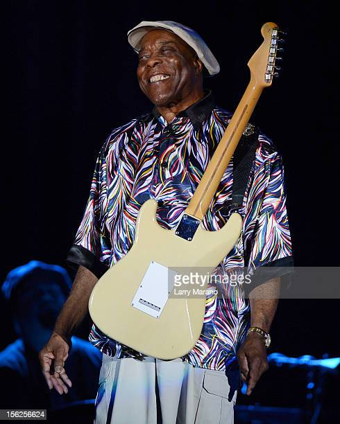 Buddy Guy performs at Seminole Casino Coconut Creek on November 11 2012 in Coconut Creek Florida