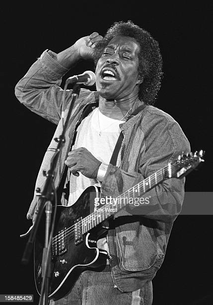 Buddy Guy performs at the Chicago Blues Fest Chicago Illinois June 9 1985