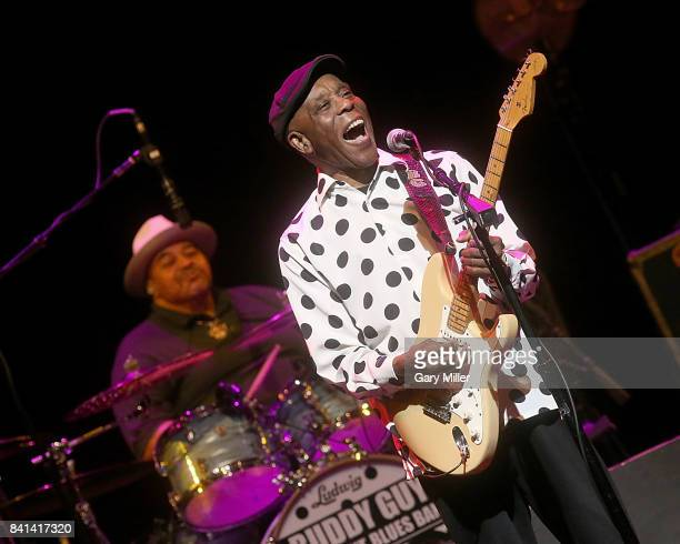 Buddy Guy performs in concert at ACL Live on August 31 2017 in Austin Texas