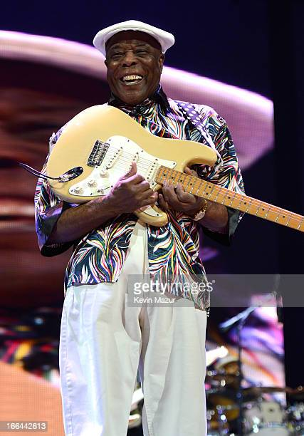 Buddy Guy performs on stage during the 2013 Crossroads Guitar Festival at Madison Square Garden on April 12 2013 in New York City