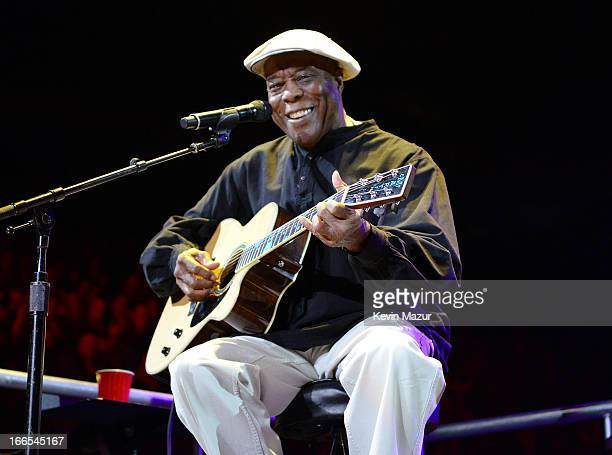 Buddy Guy performs on stage during the 2013 Crossroads Guitar Festival at Madison Square Garden on April 13 2013 in New York City