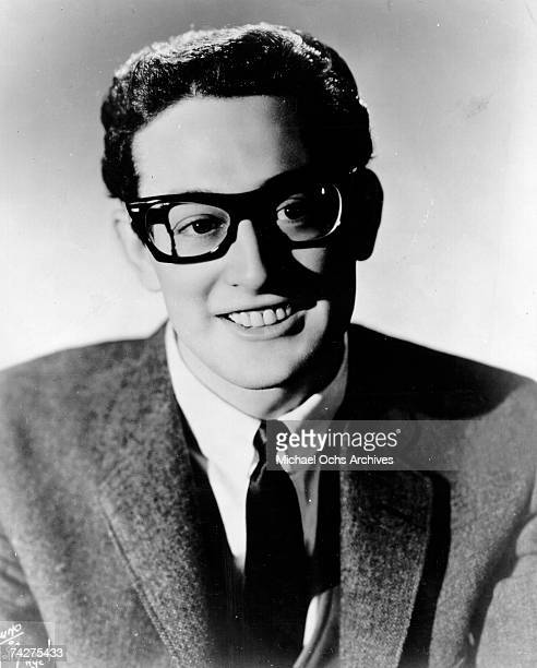 Buddy Holly poses for a portrait circa 1958 in New York City New York