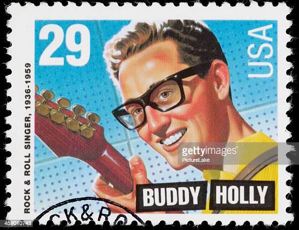 USA Buddy Holly postage stamp