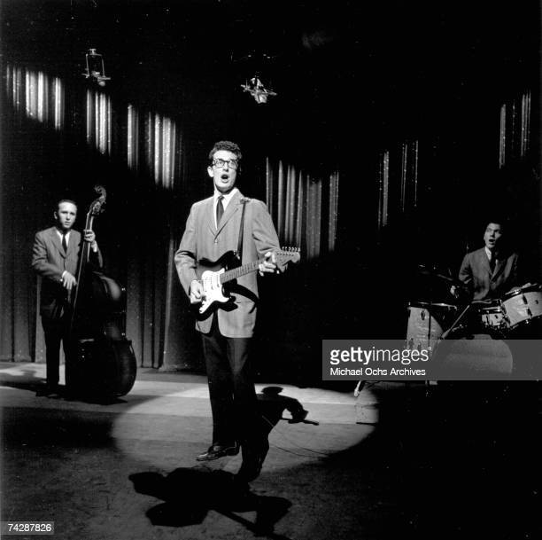Photo of Buddy Holly January 1958 Ed Sullivan Show Photo by Michael Ochs Archives/Getty Images