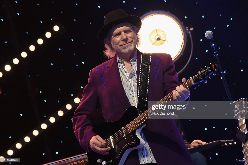 Buddy Miller performs at The Life & Songs of Kris Kristofferson produced by Blackbird Presents at Bridgestone Arena on March 16, 2016 in Nashville, Tennessee.