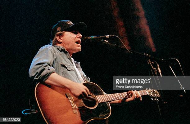 Buddy Miller, vocal, performs at the Paradiso on November 14th 1997 in Amsterdam, Netherlands.
