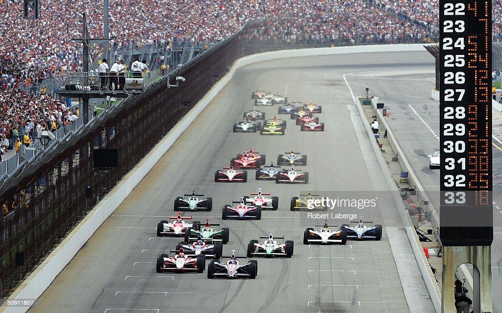 Indianapolis 500 : News Photo