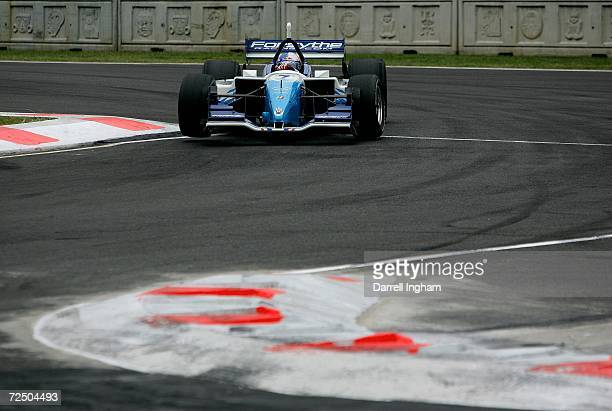 Buddy Rice drives the Forsythe Championship Racing Lola Cosworth during practice for the ChampCar World Series Gran Premio Telmex on November 10 2006...