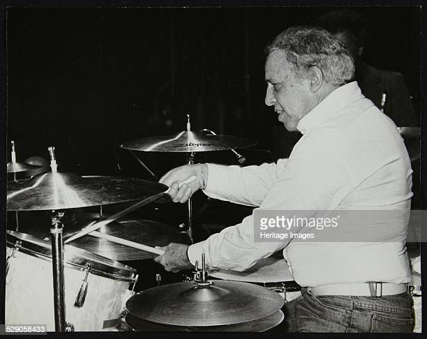 Buddy Rich on the drums, Royal Festival Hall, London, June 1985. Artist: Denis Williams .