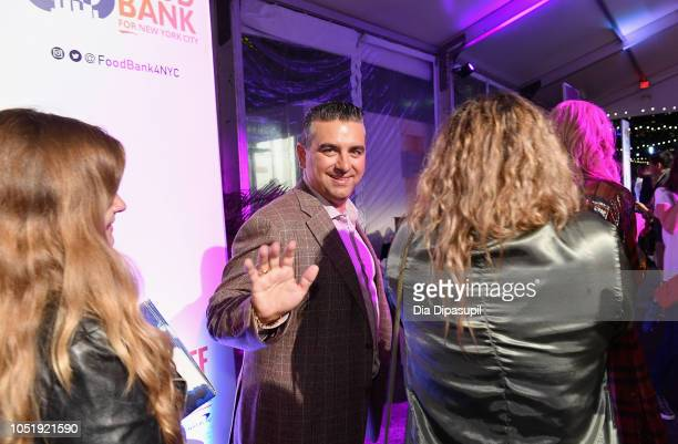 Buddy Valastro attends the Food Network Cooking Channel New York City Wine Food Festival presented by Capital One Supper Is Served A Tasting...
