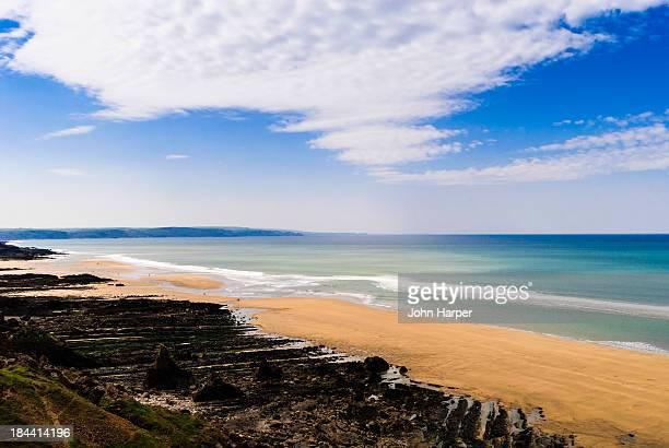 Bude Beach, Devon, UK