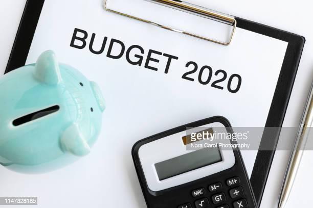 budget 2020 - budget stock-fotos und bilder