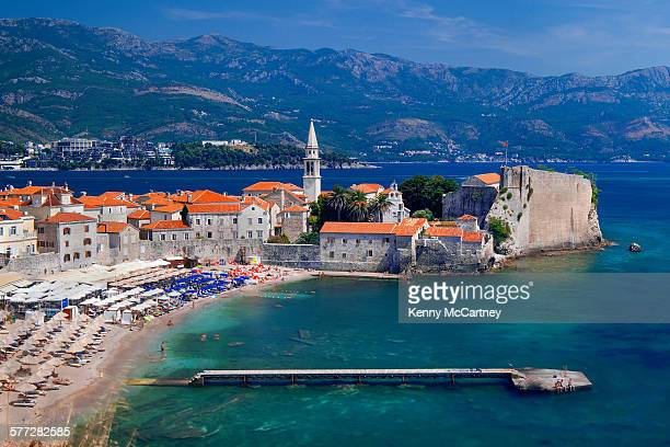 Budva, Montenegro - Old Town Beach