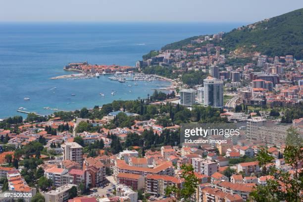 Budva Montenegro Overall view
