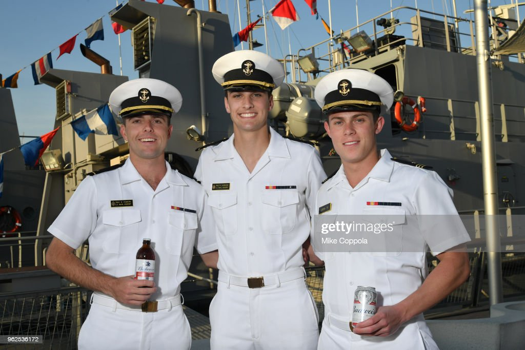 Budweiser Freedom Reserve Sponsors Fleet Week At the Intrepid In NYC