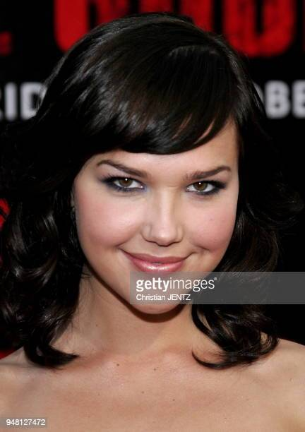Buena Park Arielle Kebbel attends the World Premiere of The Grudge 2 held at the Knott's Berry Farm in Buena Park California United States Christian...