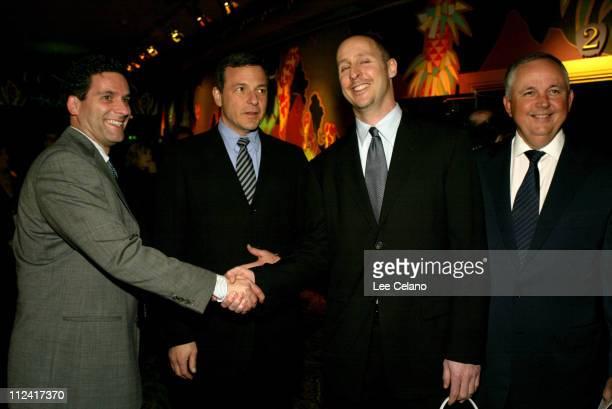 Buena Vista Pictures Marketing President Oren Aviv Disney President and COO Robert A Iger director Gavin O'Connor and Disney Studios Chairman Richard...