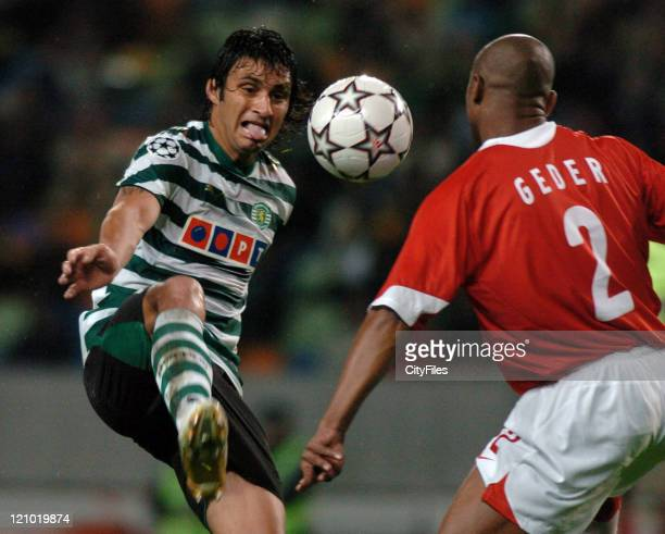 Bueno during a UEFA Champions match between Spartak Moscow and Sporting in Libson Portugal on December 5 2006
