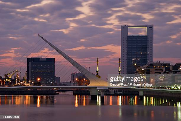 buenos aires, aregentina - puente de la mujer stock pictures, royalty-free photos & images