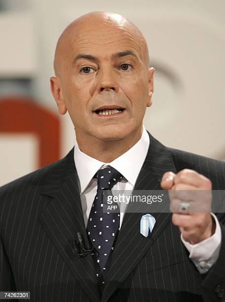 Buenos Aires, ARGENTINA: El actual Jefe de Gobierno de la Ciudad de Buenos Aires, Jorge Telerman, candidato en busca de la reeleccion como Jefe de...