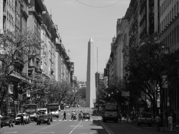 Buenos Aires B&W