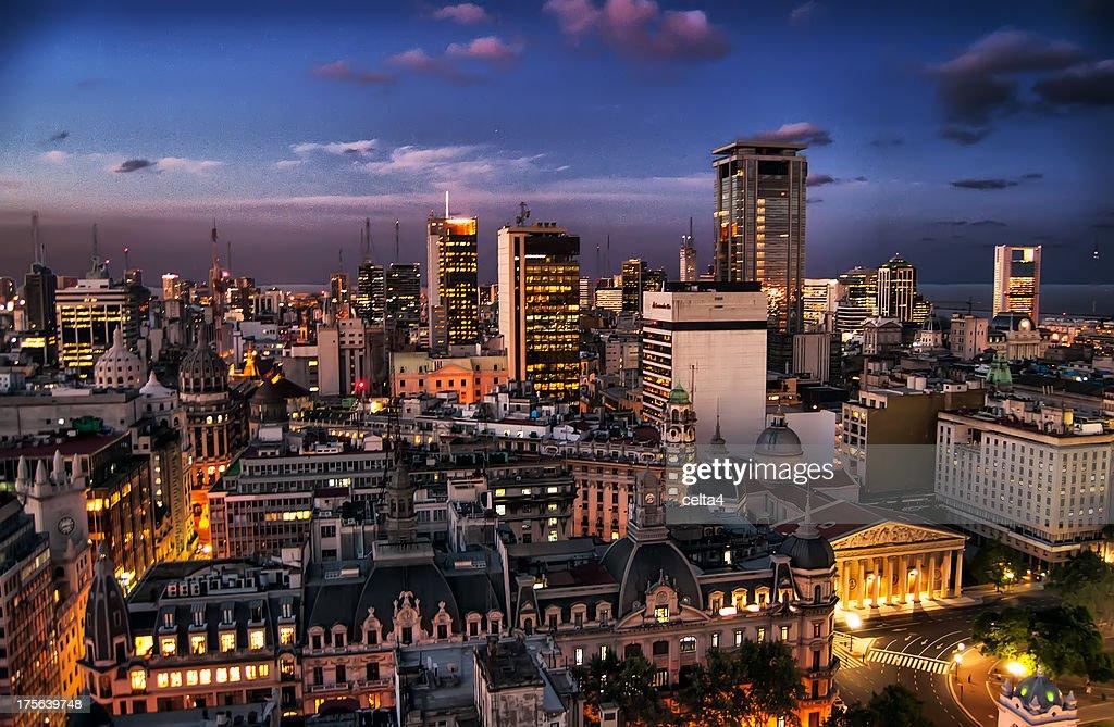 Buenos Aires desde la Legislatura V - Buenos Aires : Foto stock