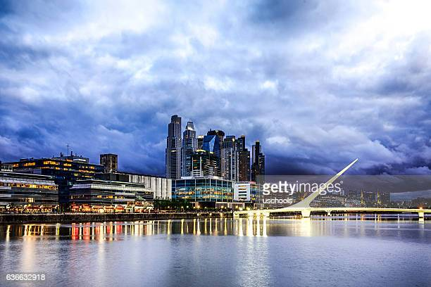 buenos aires financial district - buenos aires stock pictures, royalty-free photos & images