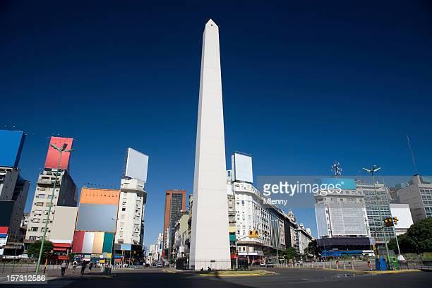 buenos aires - obelisco de buenos aires fotografías e imágenes de stock