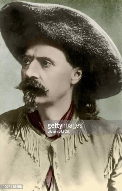Buffalo Bill *26.02.1846-+ Cowboy, Bison huntsman, Scout, showman, USA - Porträt - 01.01.1880-31.12.1880