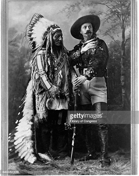 Buffalo Bill and Sitting Bull 1897