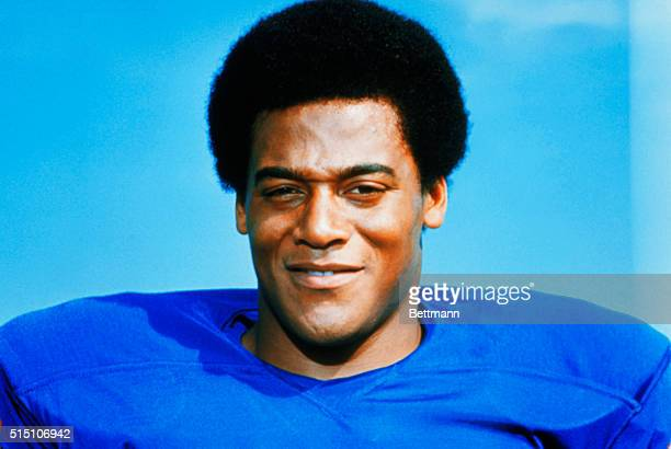 Buffalo Bills defensive end Al Cowlings.