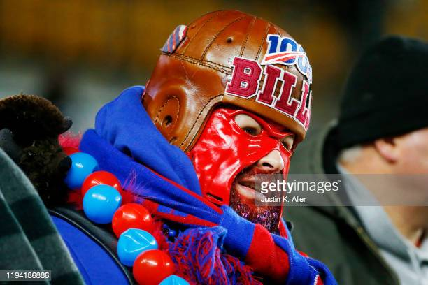 Buffalo Bills looks on before the game at Heinz Field on December 15, 2019 in Pittsburgh, Pennsylvania.