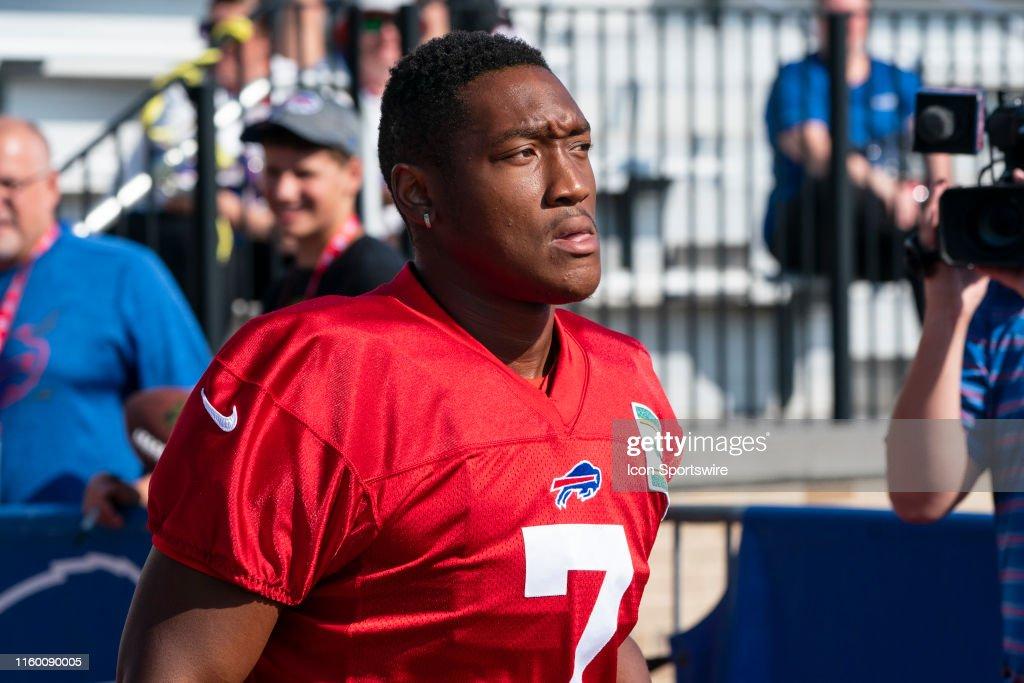 Buffalo Bills Punter Cory Carter during the Buffalo Bills training ...