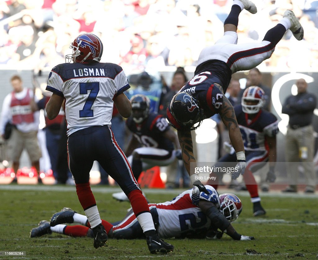 Buffalo Bills vs Houston Texans - November 19, 2006 : Foto jornalística
