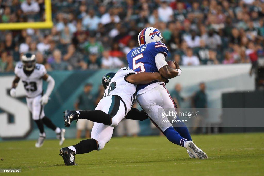 NFL: AUG 17 Preseason - Bills at Eagles : News Photo