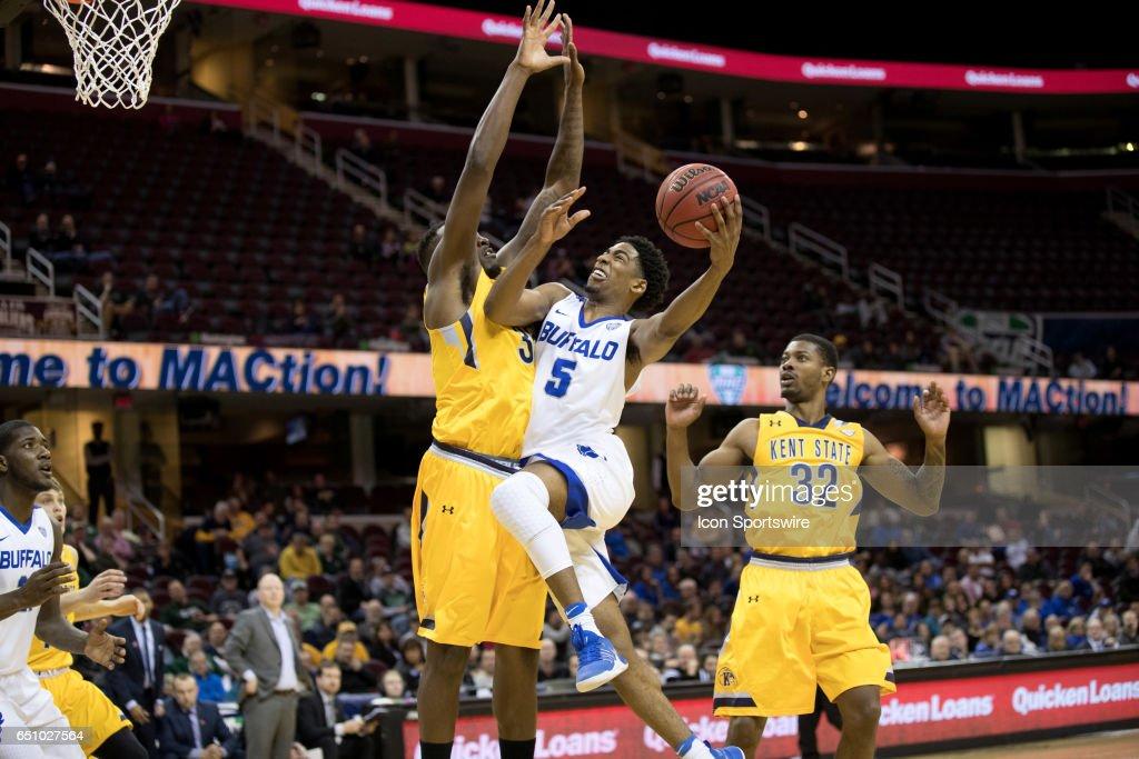 COLLEGE BASKETBALL: MAR 09 MAC Tournament - Kent State v Buffalo : News Photo