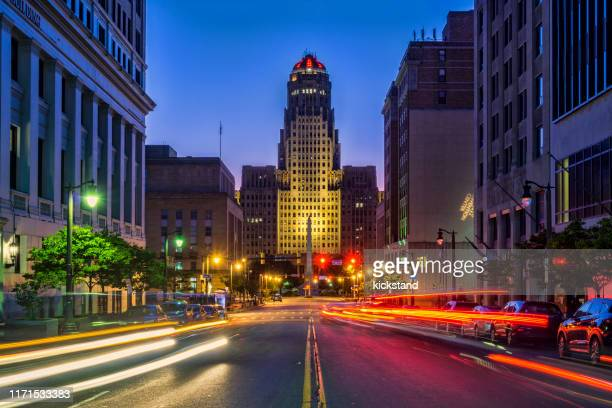 buffalo city hall - buffalo new york state stock pictures, royalty-free photos & images