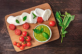 http://www.istockphoto.com/photo/buffalo-mozzarella-cherry-tomatoes-basil-leaves-and-pesto-gm862653296-143132525