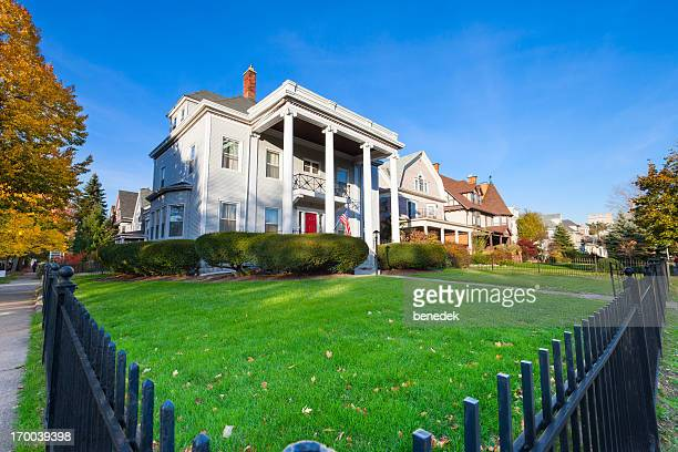 buffalo new york usa elmwood village - buffalo new york state stock pictures, royalty-free photos & images