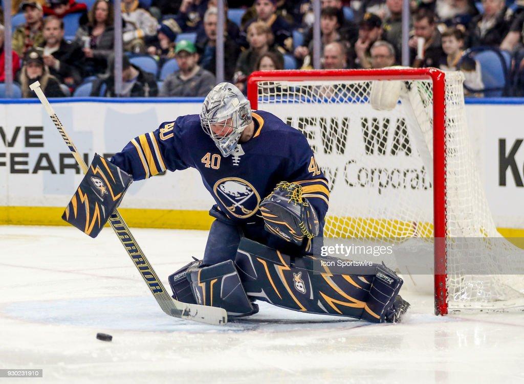 NHL: MAR 10 Golden Knights at Sabres : News Photo