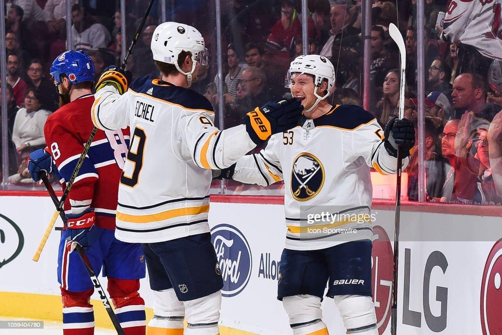 NHL: NOV 08 Sabres at Canadiens : News Photo