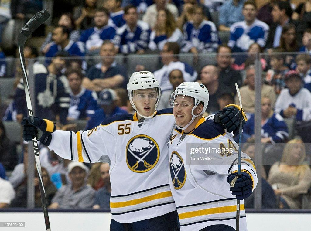 Toronto Maple Leafs V Buffalo Sabres : News Photo