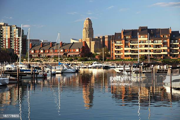buffalo waterfront - buffalo new york state stock pictures, royalty-free photos & images