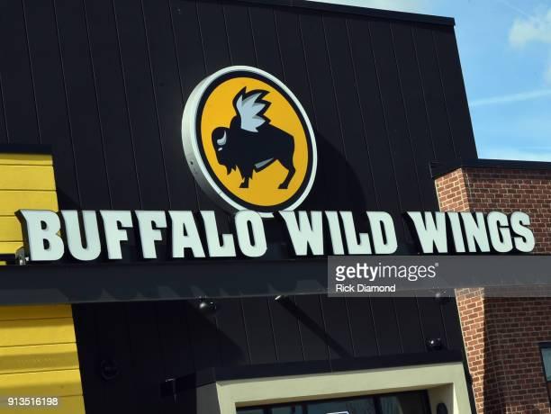 Buffalo Wild Wings restaurant is seen on February 1 2018 in Jacksonville Florida