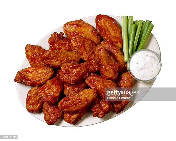 buffalo wings - chicken wings stock pictures, royalty-free photos & images