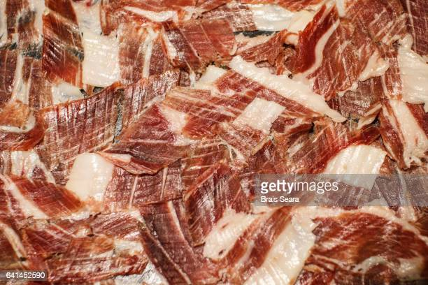 buffent - serrano ham stock photos and pictures