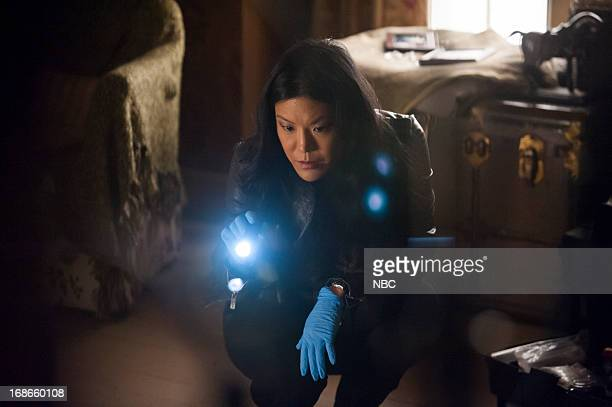 HANNIBAL Buffet Froid Episode 110 Pictured Hettienne Park as Beverly Katz