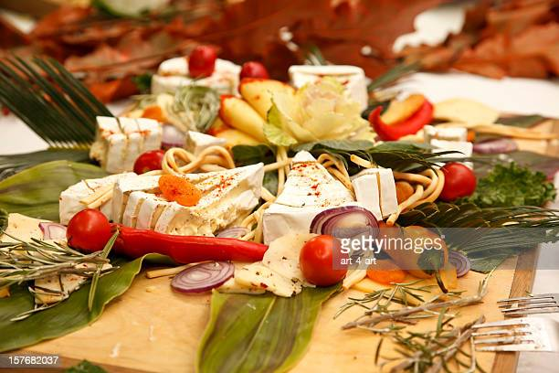 Buffet of Cheese and Vegetables I